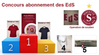 Concours Abonnement EdS