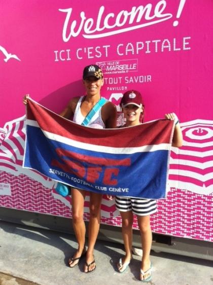 Jen-Marie, Plage des Catalans Karin & Lola Marseille