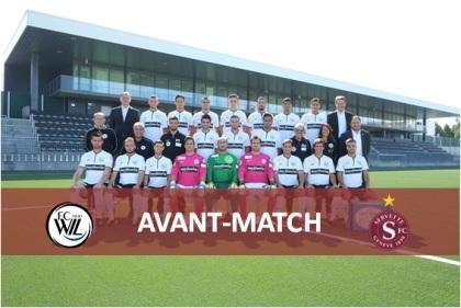 avant match FC Wil
