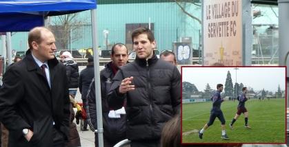 Hugh Quennec et Niklas Dams, le 23 mars 2014
