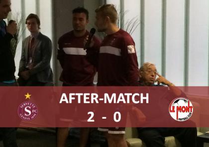 after match Le Mont