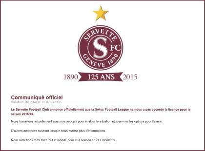 licence relegation