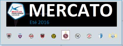 Mercato Challenge League 2016 2017